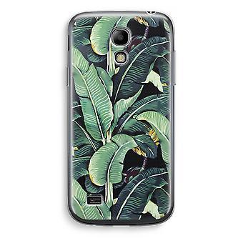 Samsung Galaxy S4 Mini Transparent Case - Banana leaves