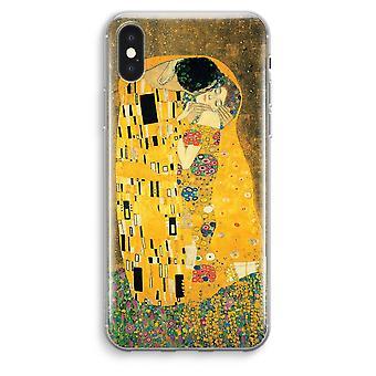 iPhone XS Max Transparent Case (Soft) - Der Kuss