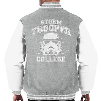 Jaqueta faculdade de Stormtrooper original masculino