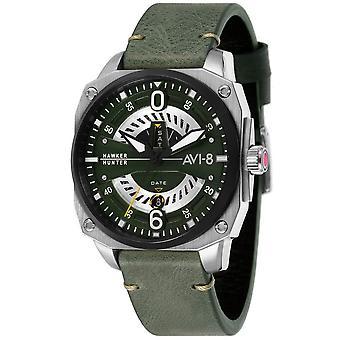 AVI-8 Hawker Hunter Watch - Green/Dark Green