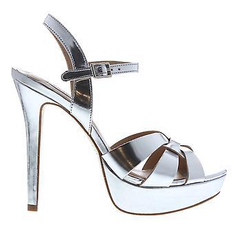 Steve Madden Womens Kaiden Heeled Sandals Ankle Strap Open Toe Buckle Platform