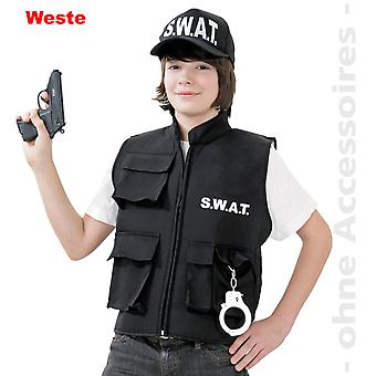 SWAT costume Einsatzkommando kids vest child costume