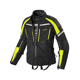 Spidi Black Fluorescent Yellow Armakore H2Out Waterproof Motorcycle Jacket