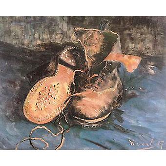زوج من الأحذية، فنسنت فإن جوخ، 34 × 41.5 سم