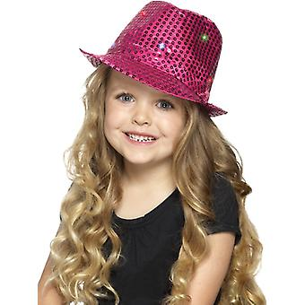 Light up sequin Trilby has