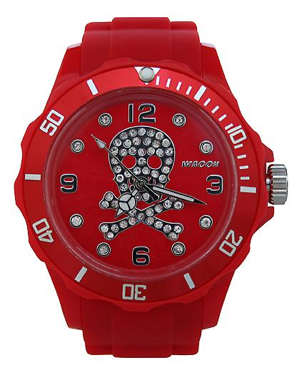 Waooh - Watch Death's Head Strass 39