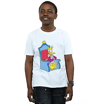 Disney jungen Donald Duck King Donald T-Shirt