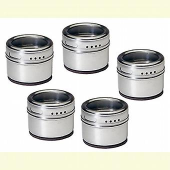 Soho Magnetic Spice Shakers set of five SHS1850001