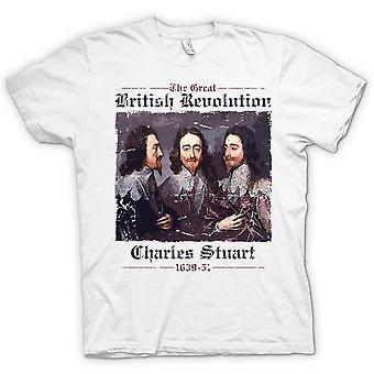 Die große britische Revolution - Charles Stuart T-Shirt