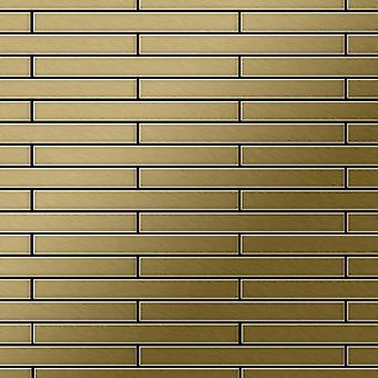 Metal mosaic Titanium ALLOY Avenue-Ti-GB