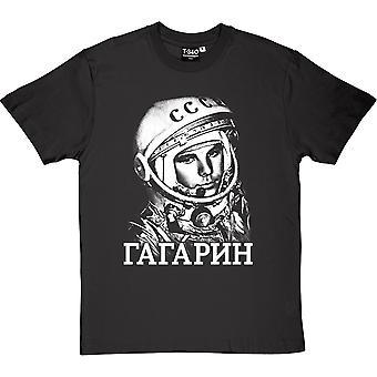 Yuri Gagarin (Großdruck) Herren T-Shirt
