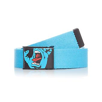 Santa Cruz Blue Screaming Hand Web Belt