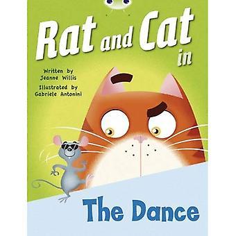 Rat et le chat dans la danse (B rouge)