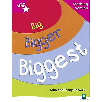 Big, Bigger, Biggest: Pink Level Non-fiction (Rigby Star Guided)