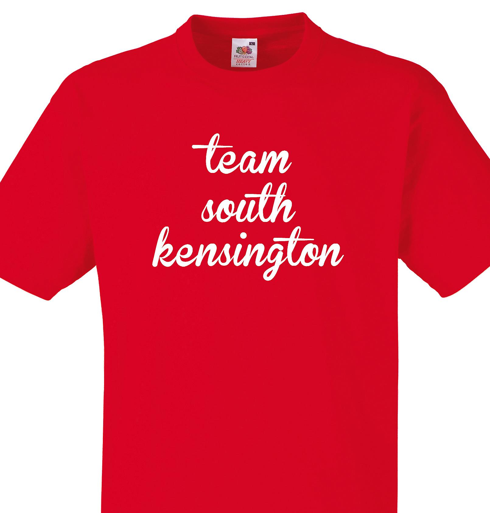 Team South kensington Red T shirt