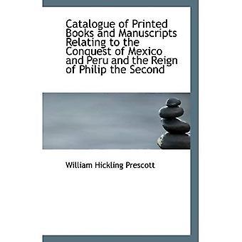 Katalog książek drukowanych i rękopisów, odnoszących się do podboju Meksyku i Peru i panowania