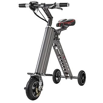 Stuff Certified ® Ultralight Electric Folding Smart e Scooter 250W - 8 inch - three wheels - black