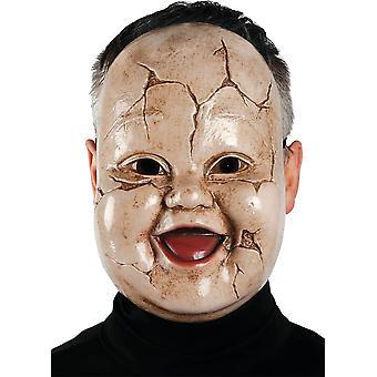 ビンテージ ベビー人形マスク