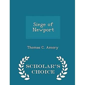 حصار من نيوبورت الطبعة اختيار العلماء بأموري & جيم توماس