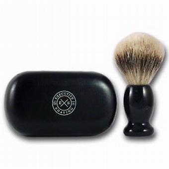 Executive Shaving Silvertip Badger Hair Travel Shaving Brush