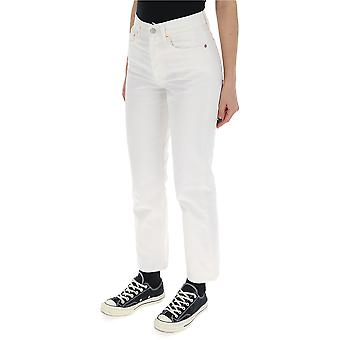 Acne Studios White Denim Jeans