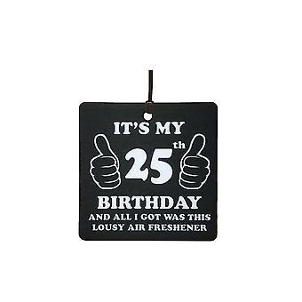 25 års fødselsdag elendig bil luftfriskere