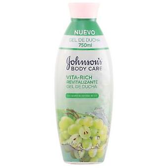 Johnson's Vita-Rich Revitilizing Body Wash - With Grapeseed Oil 750 ml