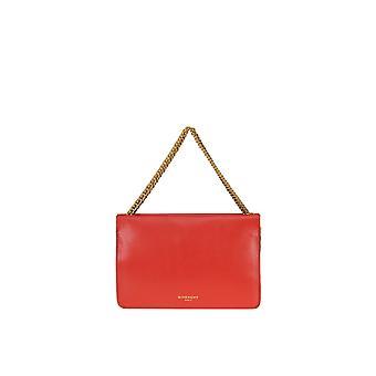 Givenchy Red Leather Shoulder Bag