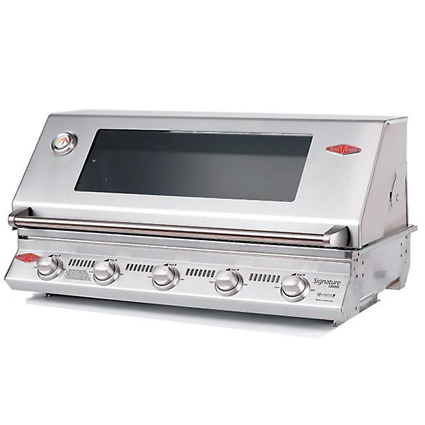 BeefEater Signature S3000S 5 Burner Built In Gas BBQ - Stainless Steel