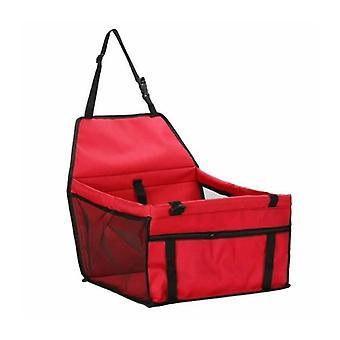 Autositz für Haustiere, Rot