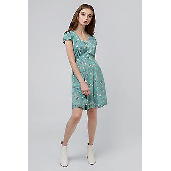 Louche Cathleen Freesia Tea Dress Mint