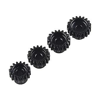 4 Pieces 48DP 3175mm 18T 19T 20T 21T Pinion Motor Gear for 1/8 RC Buggy Monster Truck Brushed Brushless Motor Gear for 1/10 1:10 RC Buggy Monster Truck