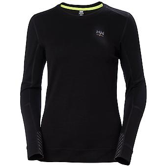 Helly Hansen Mens Merino Crewneck Longsleeved Baselayer Top