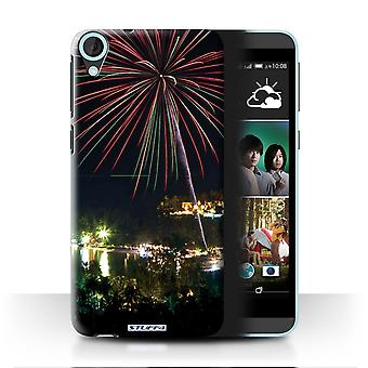 STUFF4 Case/Cover for HTC Desire 820s Dual/Fireworks/Thailand Scenery