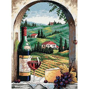 Tuscan View Needlepoint Kit 12