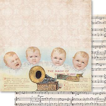 Baby Boy Double Sided Cardstock 12