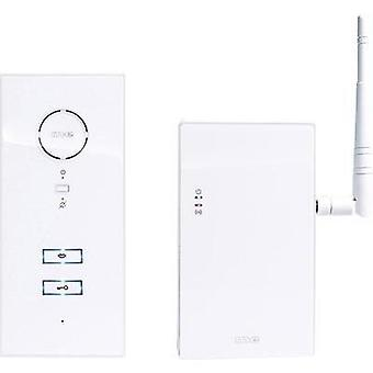 Door intercom Corded, Radio Indoor panel, Door intercom module m-e modern-electronics 40833 White