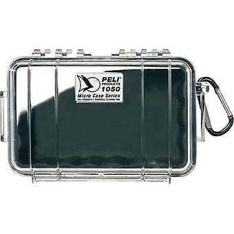 PELI Ourtdoor box 1050 1 l (W x H x D) 191 x 79 x 129 mm Black, Transparent 1050-025-100E