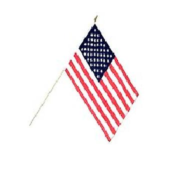 USA-Hand-Held-Flagge