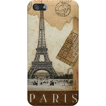 Cover Paris old postcard stamps for iPhone 4S/4
