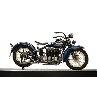 1931 Henderson 1301cc KJ quatre moto Poster Print