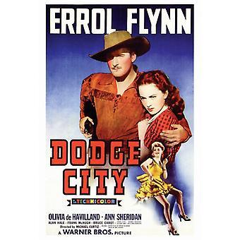Dodge City Movie Poster Print (27 x 40)