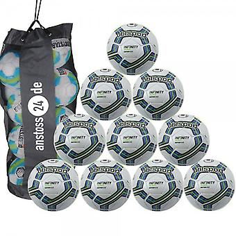10 x Uhlsport INFINITY MOTION 2.0 - Premium training ball includes ball sack