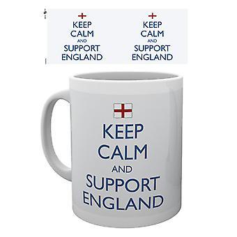 England halten ruhig Mug