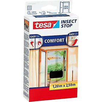 Fly screen tesa tesa® Insect Stop COMFORT (L x W) 2.5 m x 1200 mm Anthracite 1 pc(s)