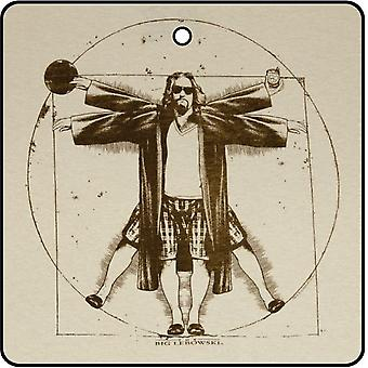 Vitruvian Dude Car Air Freshener