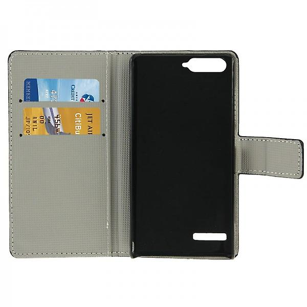Pocket wallet premium model 9 for Huawei Ascend G6