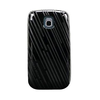 Body Glove Mirage Line TPU Soft Shell Case for LG Thrive, Phoenix P505 - Black