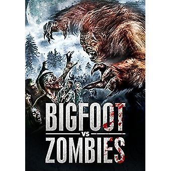 Bigfoot vs. Zombies [DVD] USA importerer