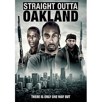 Straight Outta Oakland [DVD] USA importerer